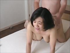 Asian Mature Fucks Doggy