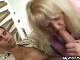 Granny pussy hammered hard