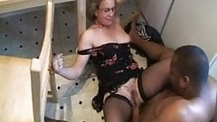 Hot milf blackmail fuck