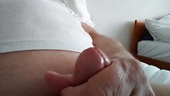 my masturbation with cumshot