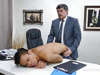 Preview 4 of Daddy Bareback Fucks Asian Boy Jordan