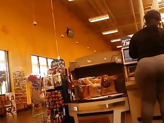 Black Booty At Grocery Store