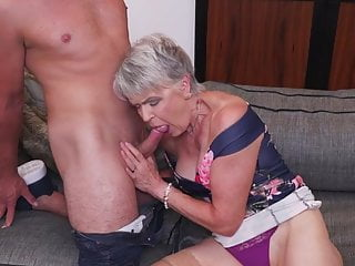 Boy spending weekend with granny Lady Sextasy