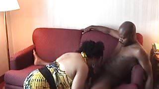 Black cougar taking dick