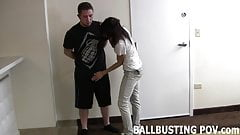 Your balls are in serious trouble boy's Thumb