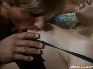 Rocco with hairy milfs  in a castle