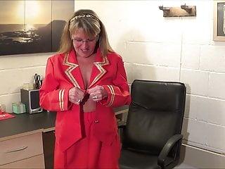 Full Back Knicker's Air Hostess pt1