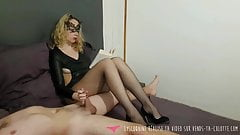 Jerk Off - Hand Job - Home made French Amateur