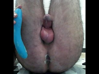 Hands Free Anal Orgasm with Cumshot IV