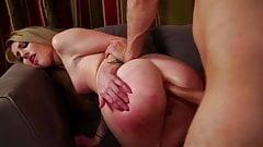 Lucky guy enjoys hard Anal sex