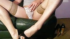 high heels cumshot