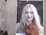 Dakota Fanning Cum Tribute 015