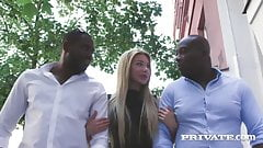 Private.com - DP'd Dark Dicked Marilyn Kristal Does 2 BBCs!