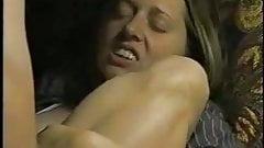 Big-thigh amateur gets anal and facial