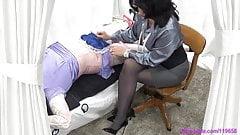 Sissy Crossdresser Handjob By Femdom Mistress Milf