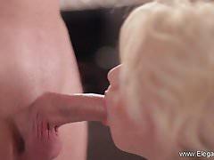 CFNM Blowjob Perfection Blonde MILF