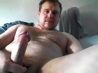 Cute Young Str8 Daddy cums on cam #36