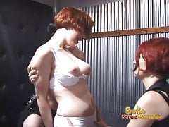 Three raunchy bombshells have some really naughty fun in the