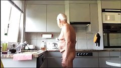 grandpa in kitchen