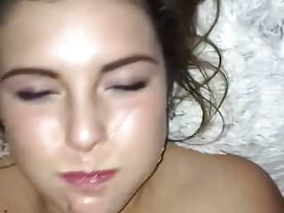 Golden shower and fucking her mouth