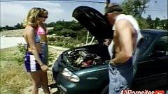 Two Girls Need A Mechanic