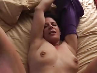Slut wife fucking her work friend