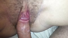 21 yo creamy pussy is fucked and she is recorded