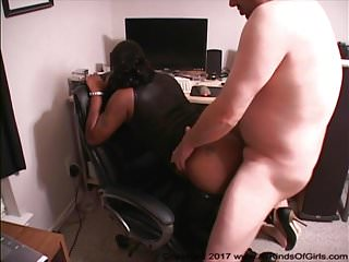 Anal Bubble Butt Ebony GILF Gets Her Ass Fucked