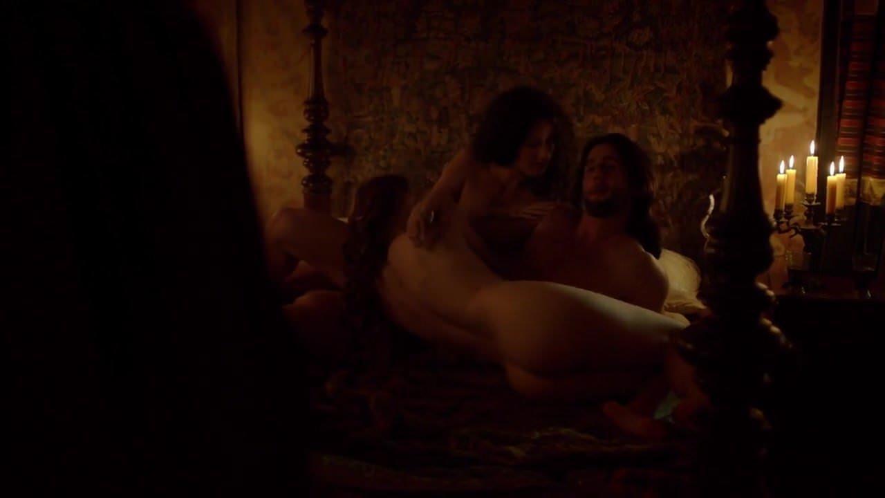 Angie Cepeda Scene marta gastini - borgia s03e02 sex scene