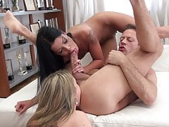 Ultra tiny babes got assfucked by Rocco Siffredi