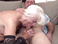 Taboo sex with OLD granny aka GILF