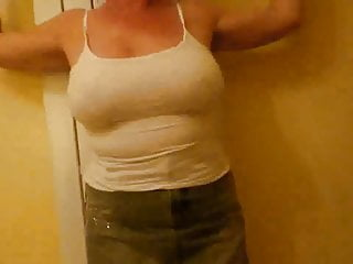 KK - My wife's tits and shaven pussy - PLEASE COMMENT