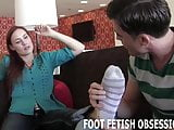 I will put my feet in your face so you can worship them