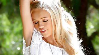 Adorable blondie Alex Grey