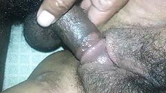 Fucking wife hairy pussy