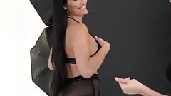 Nikki Bella See thru ass shake (slow mo)
