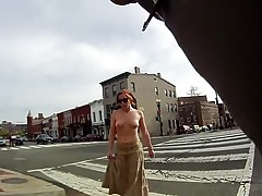 public flashing exhibitionist nude in public