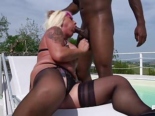 At my age I want it black! Christie Dom - MilfAmore!