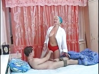boy with a milf nurse