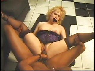 Monster black cock enjoys a wet pussy