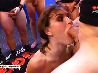 German Goo Girls -Destroy my throat with your monster cock