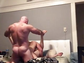 Meaty assed dad fucking group sex