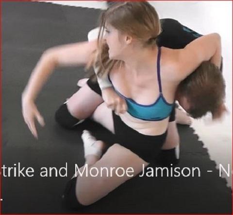James vs Monroe & Callisto! Actual Aggressive Combined Wrestling