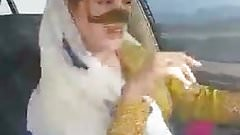Iranian sexy hijab milf dancing in car-Ahvaz city