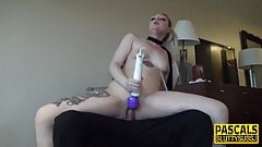 Amateur yank fucked rough