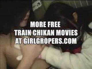 Naked girl in movie arena