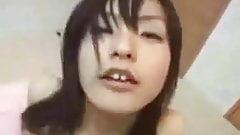 Cute Japanese Schoolgirl From Behind