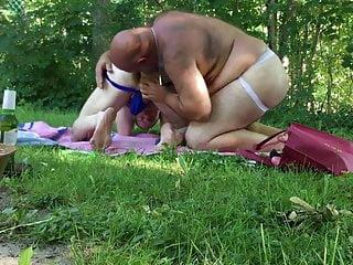 Bear Daddy Goes To Jockstrap Camping