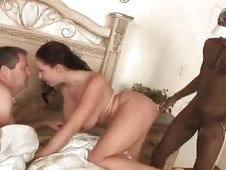Busty Wife Fucks BBC While Cuck Hubby Watches - Cireman