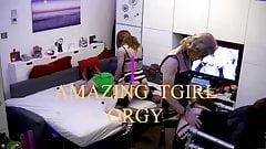6 TGirl orgy Trailer, Full video coming soon